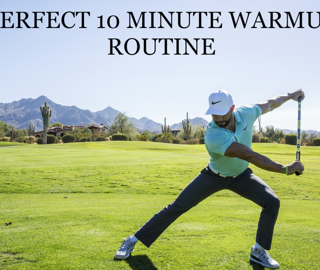 PERFECT 10 MINUTE WARMUP ROUTINE