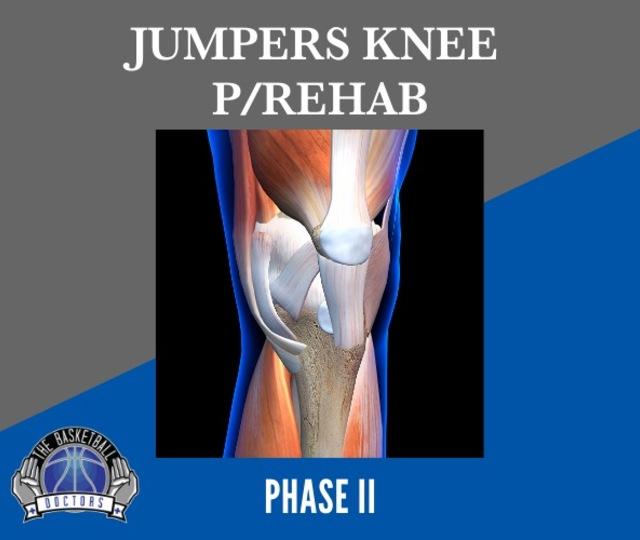 Jumpers Knee P/Rehab Phase 2