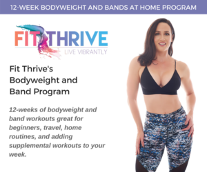 12-Week Bodyweight and Band Program