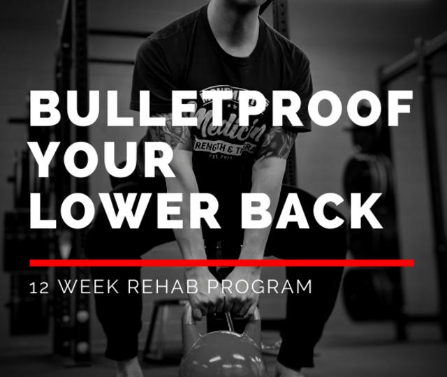 Bulletproof your Lower Back