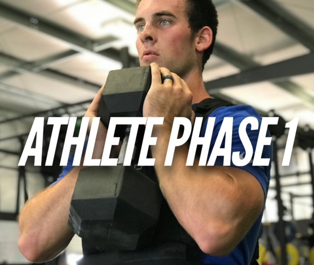 Athlete Phase 1 (Volume)