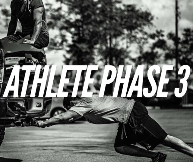 Athlete Phase 3 (Power)