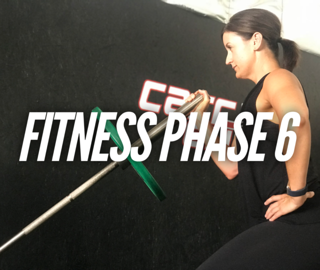 Adult Fitness Phase 6