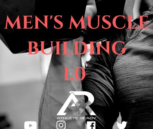 Mens Muscle Building 1.0 (12 Weeks-A)