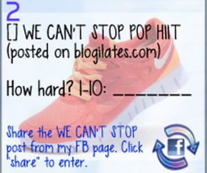 Blogilates POP HIIT: We Can't Stop