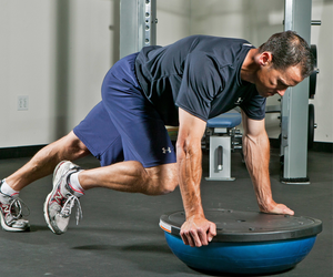 Bosu Ball Workout Plan