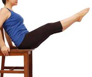 Chair Workout Plan