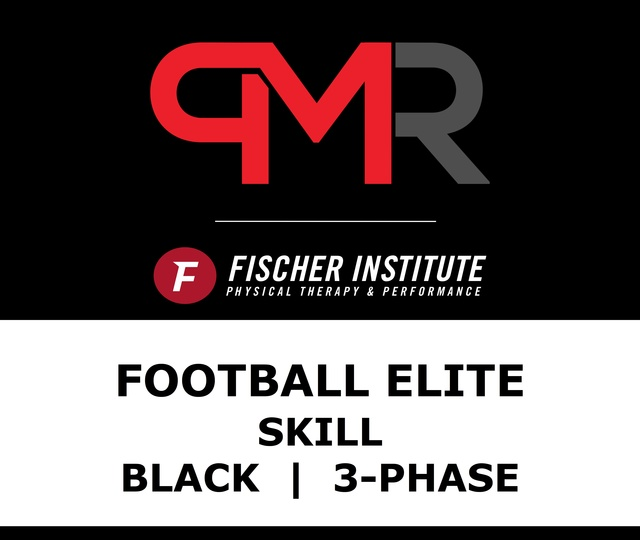 Football / Elite / Skill / Black / 3 Phase