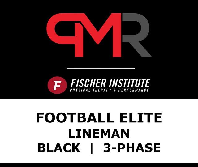 Football / Elite / Line / Black / 3 Phase