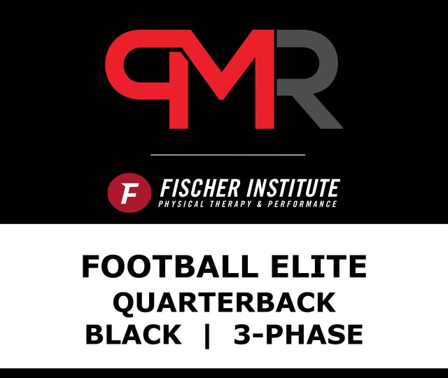 Football / Elite / QB / Black / 3 Phase
