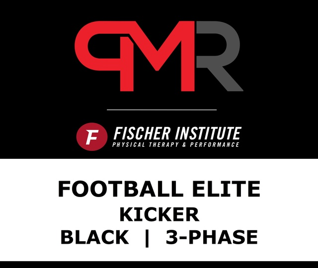 Football / Elite / Kicker / Black / 3-Phase