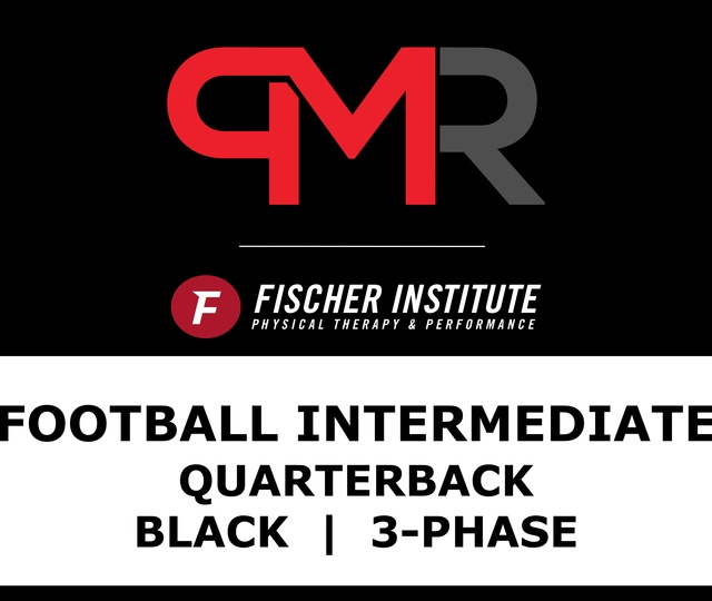 Football / Inter / QB / Black / 3 Phase