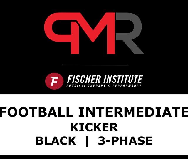 Football / Intermediate / Kicker / Black / 3-Phase