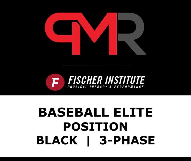 Baseball / Elite / Position / Black / 3 Phase