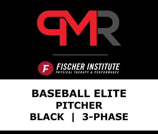 Baseball / Elite / Pitcher / Black / 3 Phase