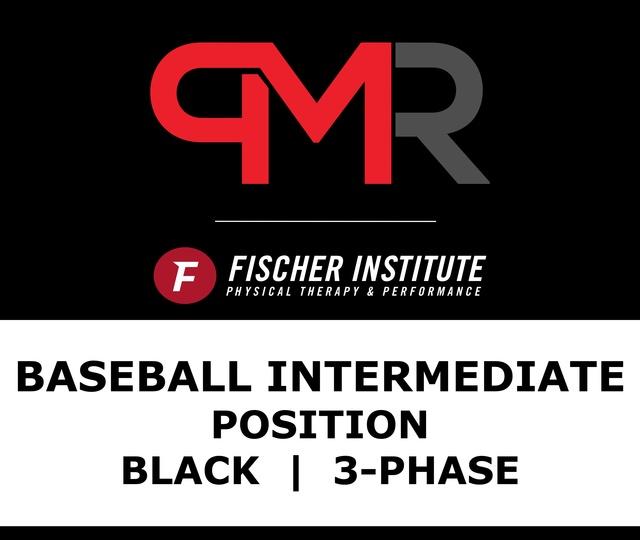 Baseball / Inter / Position / Black / 3 Phase