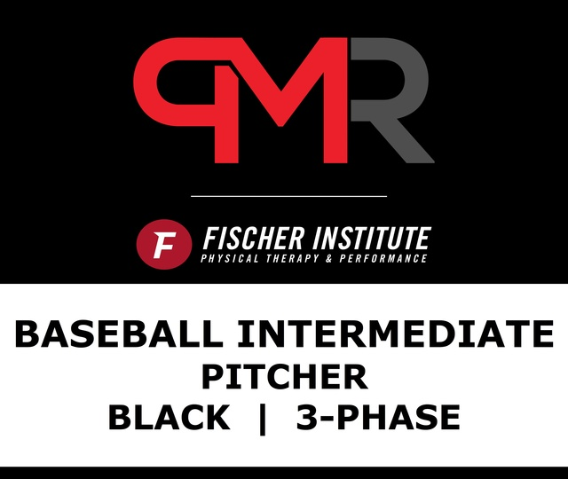 Baseball / Inter / Pitcher / Black / 3 Phase