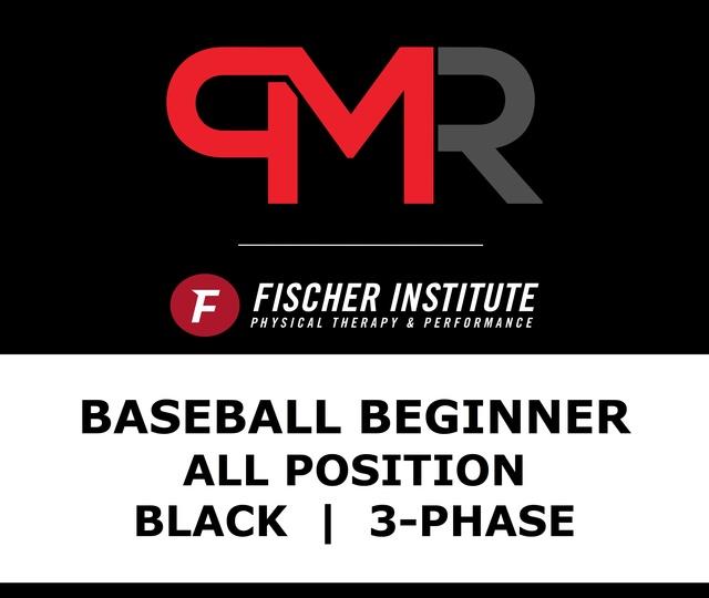 Baseball / Beginner / Black / 3 Phase