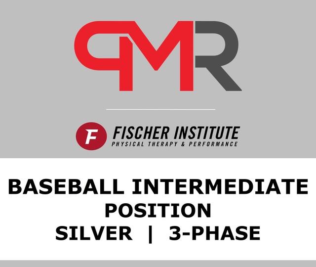 Baseball / Inter / Position / Silver / 3 Phase