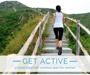 Get Active in 4 Weeks - Women's Beginner Plan
