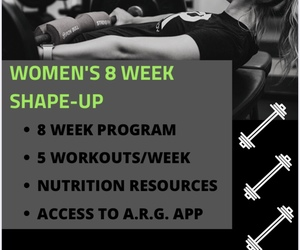 8 Week Women's Shape Up (First 4 Weeks)