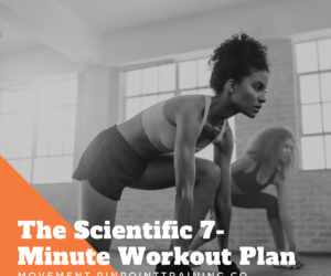 The Scientific 7-Minute Workout Plan