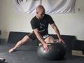 BJJ Solo Drills w/Stability Ball